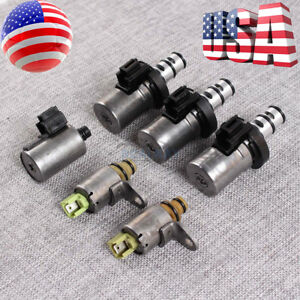 6pcs 4f27e Transmission Solenoid Kit For Ford Focus Fiesta Mazda 3 5 6 Cx 7