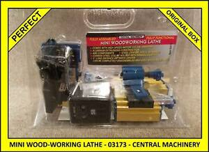 Nib Mini Wood working Turning Milling Lathe 03173 Central Machinery Hobby