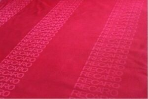 39x63inch Jdm Recaro Seats Red Fabric Interior Fabric Front Rear Seat Cover