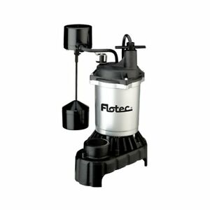 Flotec Fpci3350 Submersible Cast Iron And Zinc Sump Pump 1 3 Hp