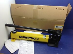 Enerpac P 392 New Hydraulic Hand Pump 2 Speed 10 000 Psi 55 Cu In