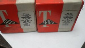 2 X Triad Power Transformer Ty 89