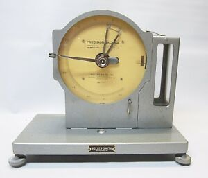 Vintage Federal Pacific Roller smith Precision Balance 5mg With Case