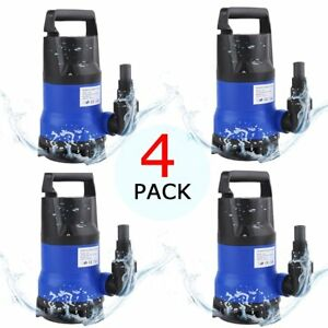 4 750w 1hp 3432gph Submersible Dirty Clean Water Pump Flood Pond Swimming Pool V