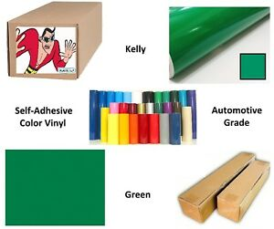 Kelly Green Self adhesive Sign Vinyl 30 X 63 Ft Or 21 Yd 1 Roll