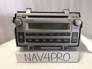 2011 2012 Toyota Matrix Mp3 Wma Radio Cd Player Oem 169