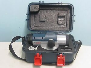 Bosch Gol24 Automatic Optical Level Kit With 24x