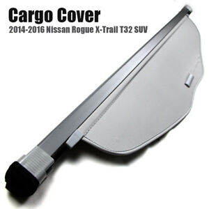 For 14 16 Nissan Rogue X trail T32 Retractable Trunk Cargo Cover Security Shield