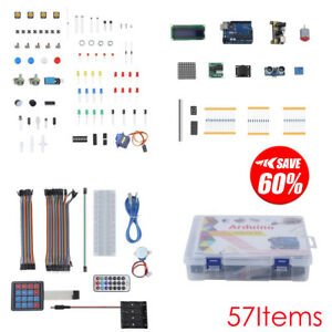 New Ultimate Starter Learning Kit For Arduino Uno R3 Lcd1602 Servo Processing Vp