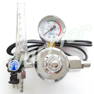 220v Mig Welding Co2 Regulator Gauge Gas Flowmeter With Us Plug