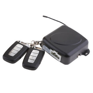 Alarm System Keyless Entry Engine Start Push Button Remote Starter For Car