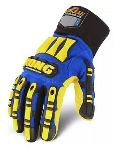 Ironclad Kong Waterproof Impact Protection Cold Winter Work Gloves Size Large