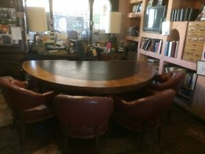Beautiful Executive Office Desk With Conference From Estate Of William P Lear