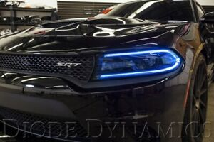 2015 2018 Dodge Charger Rgbw Drl Headlight Led Boards W bluetooth Controller
