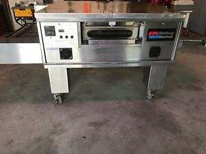 Middleby Marshall Ps 555 Q Includes Hood And Exhaust Fan