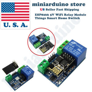 Esp8266 Relay Module Smart Home Phone Remote Control Switch App Esp 01 5v Wifi