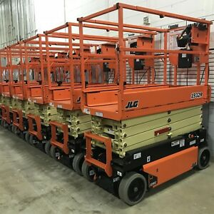Brand New Jlg 1932r 19 Ft Electric Scissor Lift Flat Rate Shipping