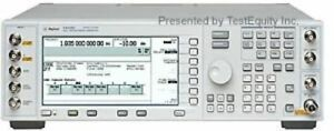 Agilent Keysight E4433b Un8 250 Khz To 4 Ghz Signal Generator Stock Photo