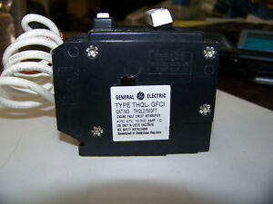 General Electric Ground Fault Circuit Interrupter 2p 120 240 Vac 10k 50 Amp New