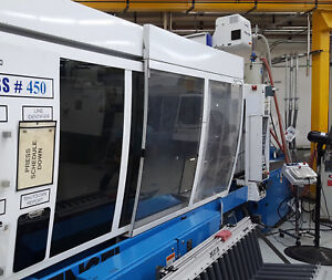 2005 Engel 450 Ton Two shot Two color Injection Molding Machine