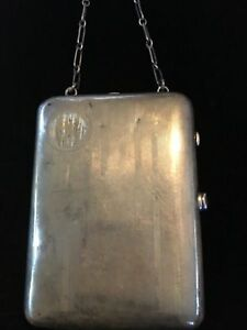Vintage Sterling Silver Compact Coin Holder