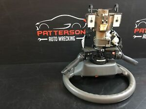 2009 Toyota Corolla Steering Column Assembly With Key Floor Shift Not Xrs Gray