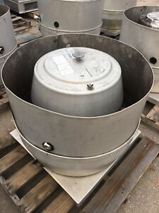 Restaurant Hood Exhaust Fan 24 X 24 Base