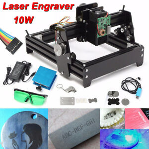 12v 10w Mini Laser Engraving Machine Usb Metal Engraver Stone Image Printer