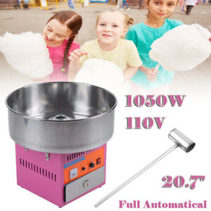 21 Electric Cotton Candy Machine Diy Floss Commercial Maker Party Wedding Pink
