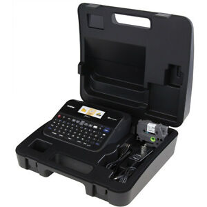 Brother Pc connectable Label Maker With Color Display And Carry Case Pt d600vp