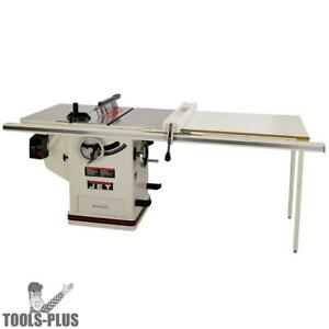 Jet 708675pk Jtas 10xl50 1dx 10 Deluxe Xacta Table Saw 50 Xacta Fence Ii New