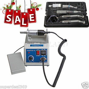 Lab Marathon Iii Electric Micro Motor high Low Speed Turbine Handpiece Fit Nsk