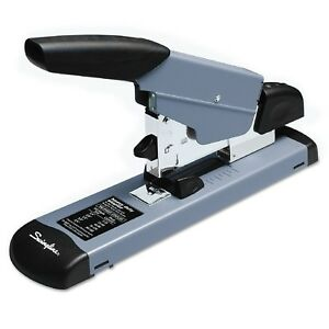 Swingline Heavy Duty Stapler 160 Sheet Capacity Black gray
