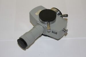 Microscope Carl Zeiss Jena Part Photo Attachment Microphotography Pollum