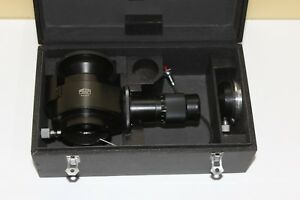 Microscope Carl Zeiss Jena Part Photo Attachment Microphotography Black