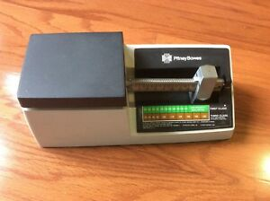Vtg Pitney Bowes Mechanical Postage Scale 16 Ounces First Class