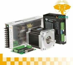 New 1axis Nema34 Stepper Motor 965oz in 34hs9456 Driver Dm860a Cnc Router