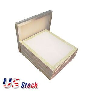 Usa 6pc 20 x24 Aluminum Frame Printing Screens With 160 Mesh For Screen Print