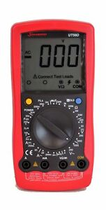Uni t Ut58d Ac dc Digital Lcr Multimeter With Large Lcd And Wide Range Measur