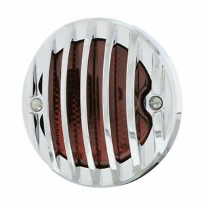Incandescent Tail Light Assembly W Chrome Grille Bezel R H Fits 1933 36 Ford