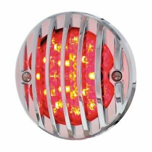 1933 36 Ford 17 Led Tail Light Assembly With Chrome Grille Bezel R H Hot Rod