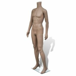 Man Without Head Mannequin Shop Windows Dressmaker Clothes Realistic Display Pe