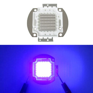 10w 20w 30w 50w 100w Ultra Violet Uv 365 370nm 380 385nm 395 405nm 420nm Led