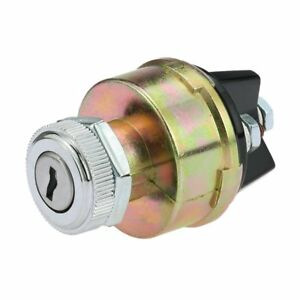 New Universal Ignition Switch With 2 Keys For Car Tractor Trailer