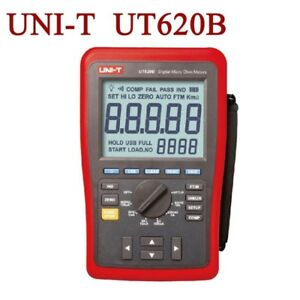 Uni t Ut620b Digital Micro Ohm Meters Low Resistance Tester Usb Transmission