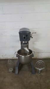 Hobart D 300 Dough Mixer 30 Qt Hook Paddle Whisk Tested 115v