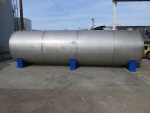 5000 Gallon Stainless Steel Tank