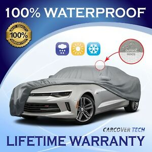 cct 5 Layer Weather waterproof Custom Fit Car Cover For Chevy Camaro 2010 2018