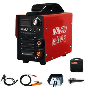 Mini Mma Inverter Dc Arc Welder Welding Machine 220v 140a Ce Rosh Portable Tools