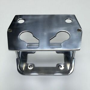 Smooth Polished Billet Aluminum Optima Battery Tray Chevy ford mopar